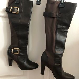 """Boots 4""""heel dark brown Jessica Simpson"""